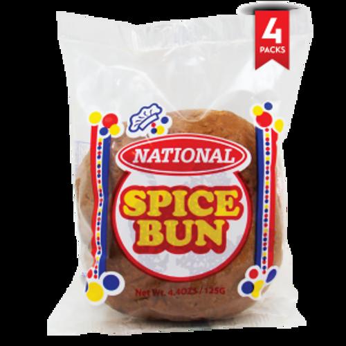 National Spice Bun – 4oz (4 Pack)