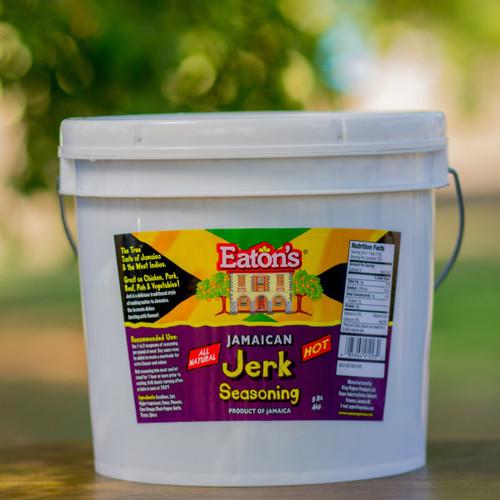 Eaton's Jamaican Jerk Seasoning 9lbs-HOT