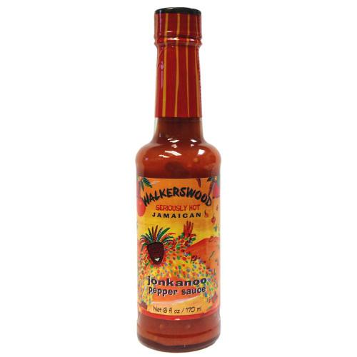 Walkerswood Jonkanoo Hot Sauce (Pack of 3 bottles)