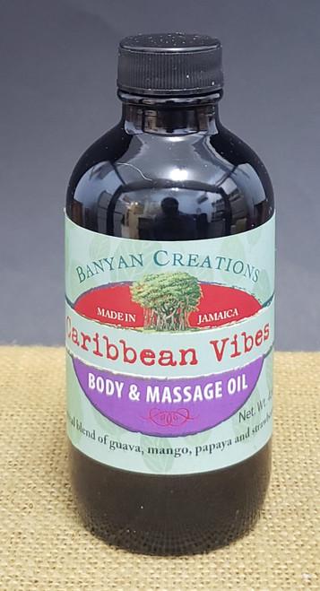 Caribbean Vibes Massage oil-4oz
