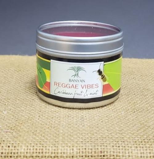 Caribbean Vibes Travel Tin candle-3oz