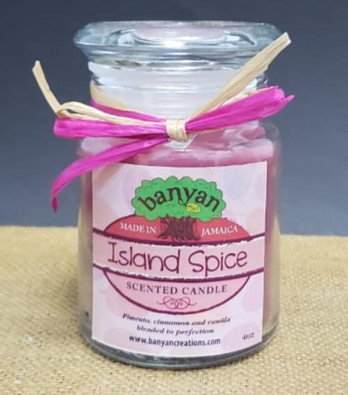 Island Spice Jar candle-4oz