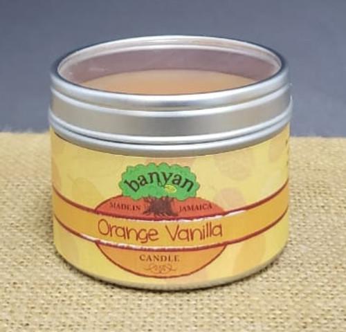 Orange Vanilla Travel Tin candle-3oz