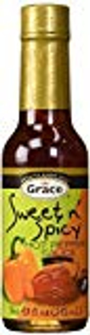 Grace Sweet And Spicy Hot Pepper Sauce - 4.8oz (2 bottles)