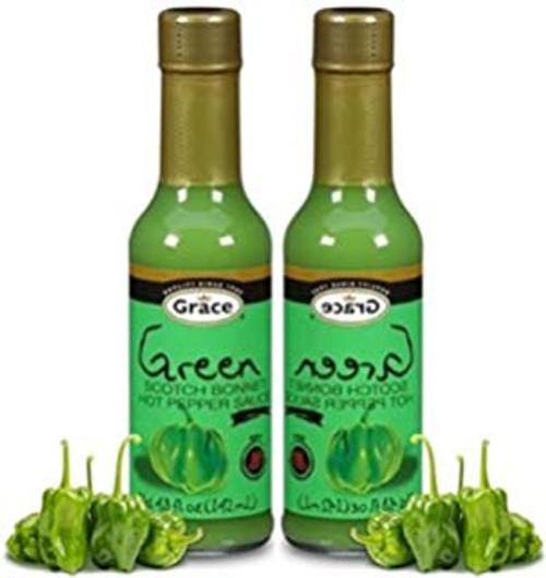 Grace Green Scotch Bonnet- 4.8oz (2 bottles)
