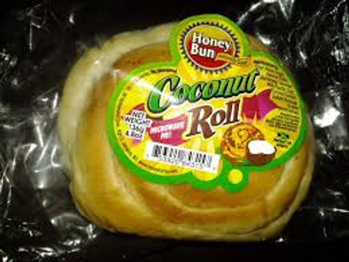 Honey Bun Coconut Roll, 120g -3 pack