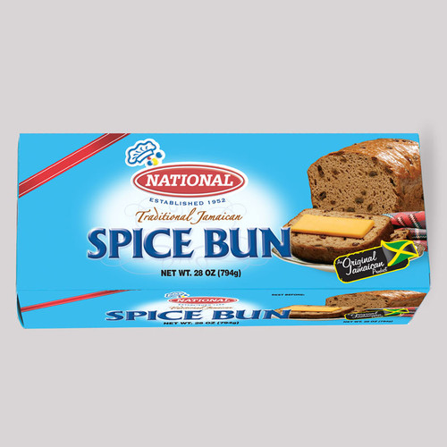 National Box Spice Bun (28oz)