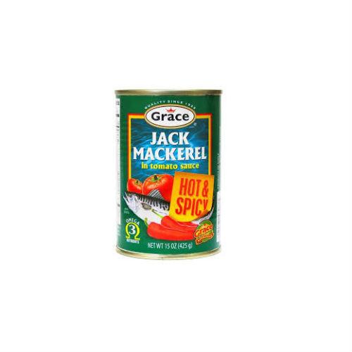 Grace Jack Mackerel - 425g (HOT & SPICY)