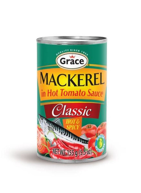 Grace Classic Mackerel HOT & SPICY - 155g (set of 3)
