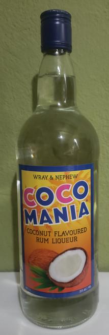 J Wray and Nephew Coco Mania Rum Liqueur - 1 Litre