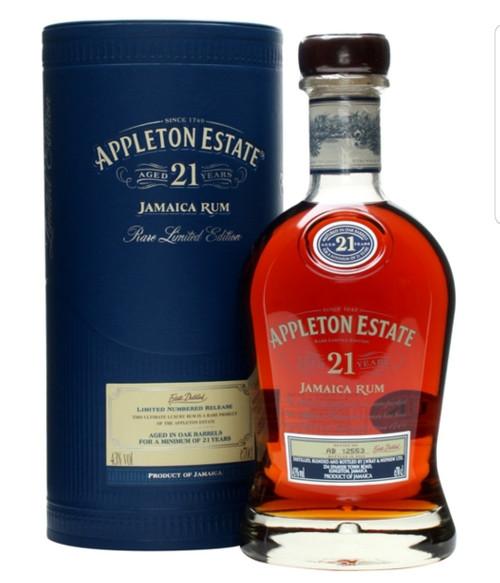 Appleton Estate 21 Year Old Jamaican Rum - 750ml
