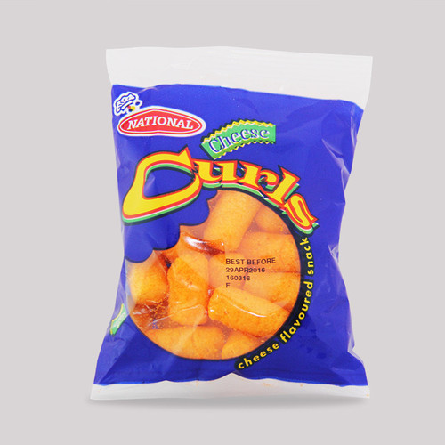National Cheese Curls, small (bundle of 6)