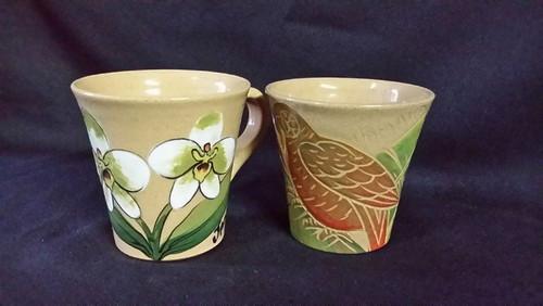 Frazer's Ceramics Coffee Cup FLower (per cup)