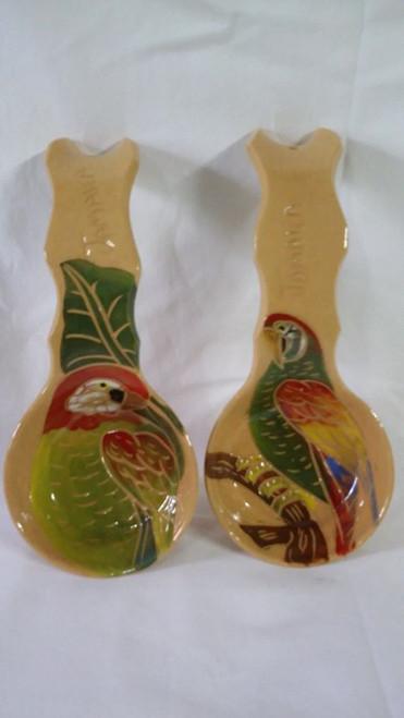 Frazer's Ceramics spoon rest- brown (per spoon rest)