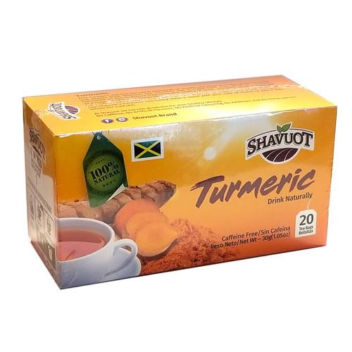 Shavuot Turmeric Tea (20 Tea bags) pack of 3