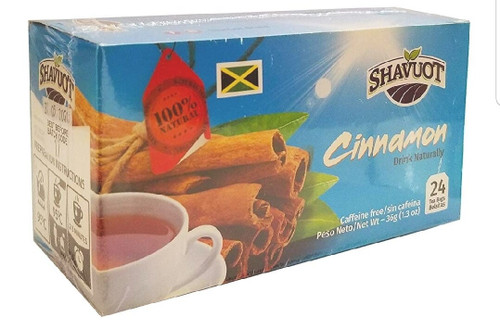 Shavuot Cinnamon Tea (24 Tea bags) pack of 3