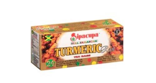 Ital Jamaican Turmeric Root Tea (24 bags)