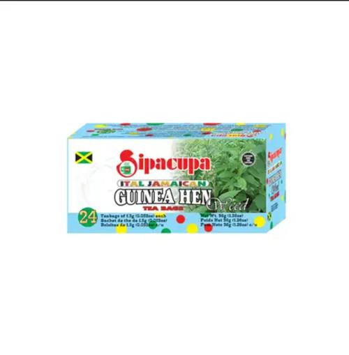 Ital Jamaican Guinea Hen Weed Tea (24 bags)