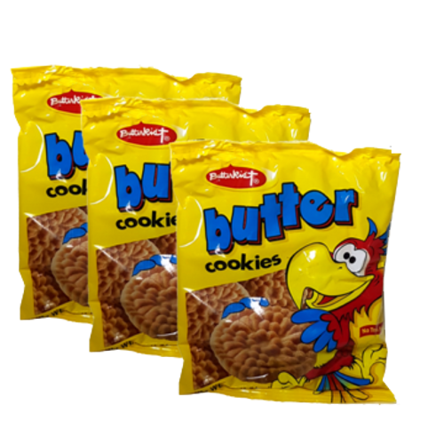 Butterkist cookies- (pack of 3)