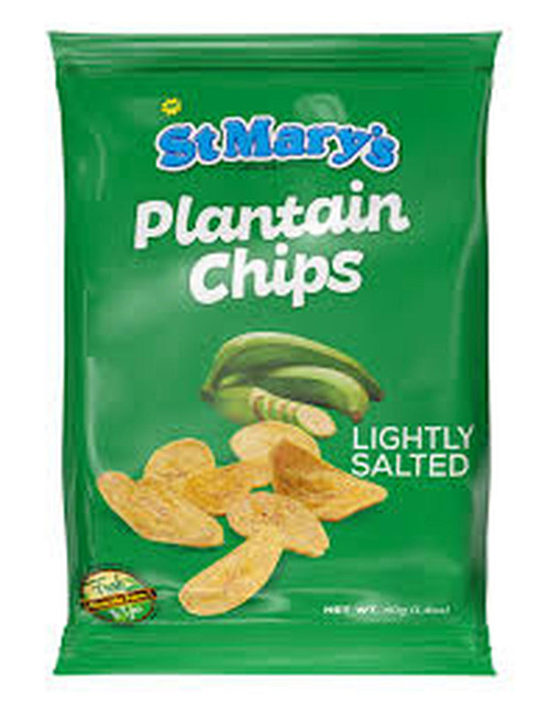 St. Mary's Plantain Chips - 71g (pack of 3)