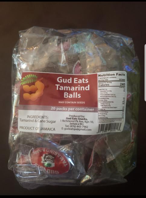 Gud Eats Tambrind Balls- (20 packs per container)