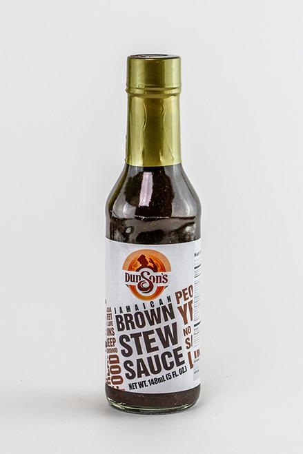 Dunson's Jamaican Brown Stew Sauce- 142g