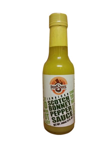 Dunson's Jamaican Scotch Bonnet Pepper Sauce- 142g