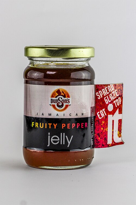 Dunson's Jamaican Fruity Pepper Jelly- 454g