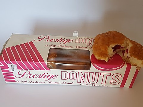 Prestige Donut- (6 donuts in box) 256g (Express Priority Shipping  only)