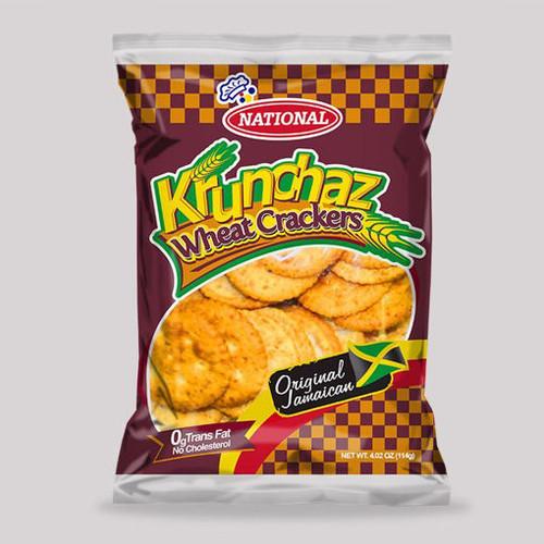 Krunchaz Wheat Crackers (bundle of 3)