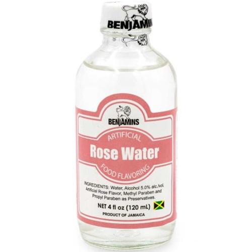Benjamins Rose Water Flavouring