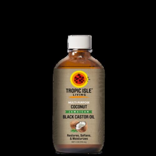 Tropic Isle Coconut Jamaican Black Castor Oil-4oz