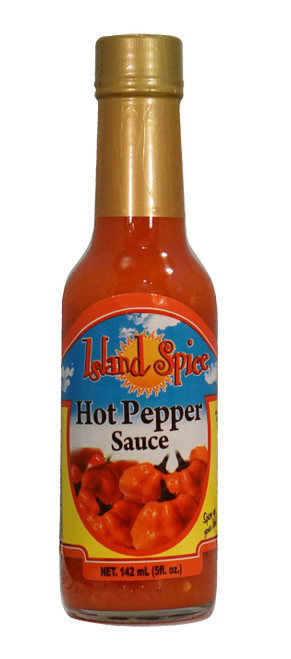 Island Spice Hot Pepper Sauce (FORMERLY KNOWN AS DRAGON FIRE)-5oz