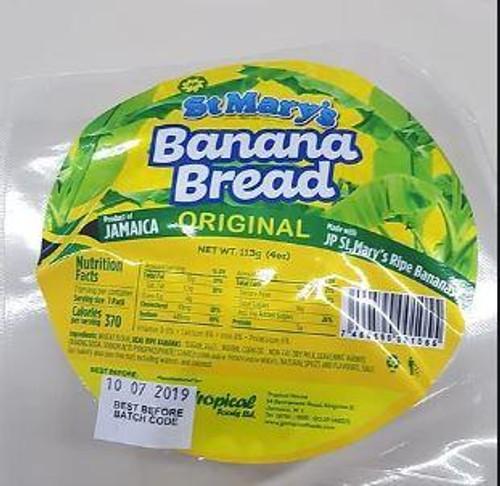 St. Mary's Banana Bread (Original)