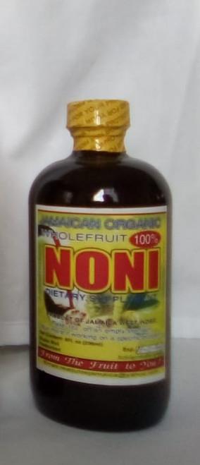 Jamaican Organic Wholefruit 100% Noni Juice- (8oz)