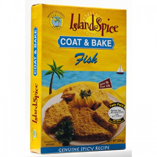 Island Spice Coat & Bake Fish- 8oz (pack of 3)