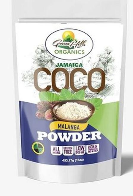 Green Hills Organics Gluten Free Jamaican Coco Malanga Powder (16oz)