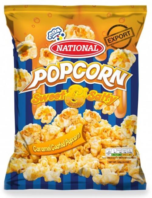 National Caramel Popcorn Sweet & Salty- (bundle of 3)