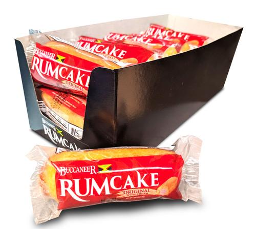 Buccaneer Pocket Size Rum Cake (10 Pack)- Original