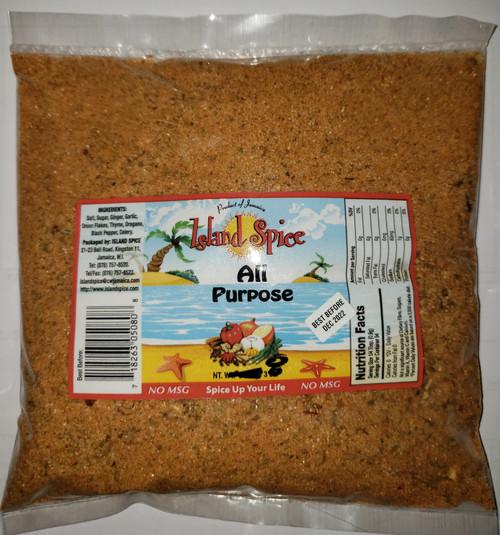 Island Spice All Purpose seasoning- 16oz
