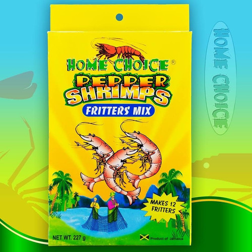 Home Choice Pepper Shrimps Fritters Mix-227g