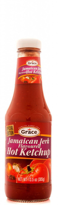 Grace Jamaican Jerk Flavoured Hot Tomato Ketchup Limited Edition-13.5oz