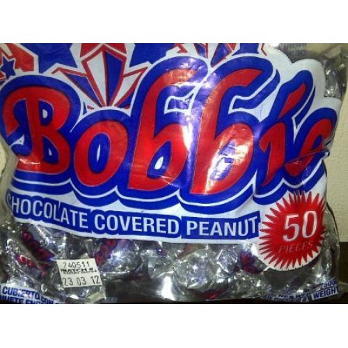 Bobbie Chocolate Coated Peanuts- 50 pieces