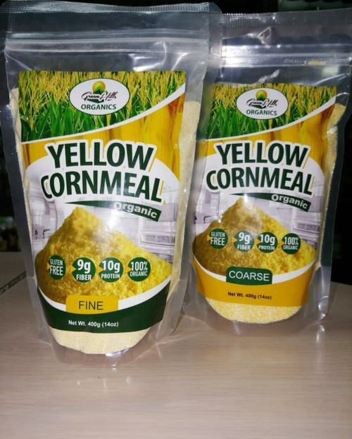 Green Hlls Organics Yellow Cornmeal (14oz)
