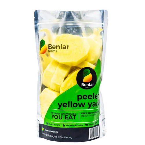 Benlar Foods Peeled Yellow Yam (Ready to Cook)