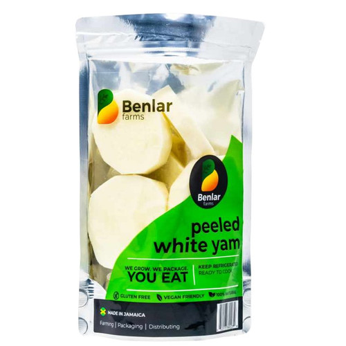 Benlar Foods Peeled White Yam (Ready to Cook)