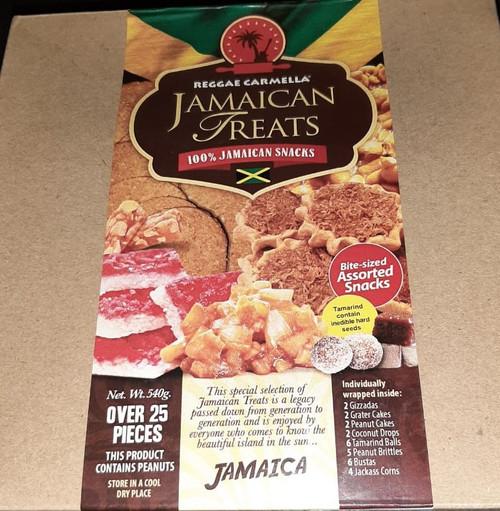 Reggae Carmella Jamaican Treats- 540g