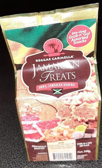 Reggae Carmella Jamaican Treats- 160g