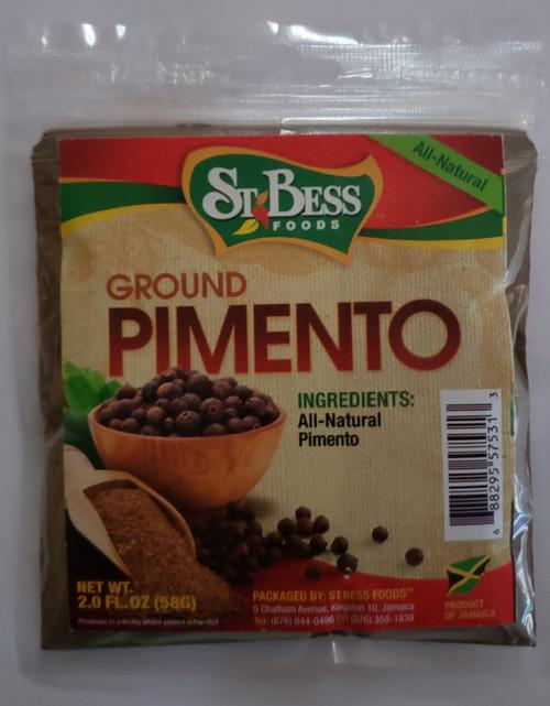 St. Bess Foods Ground Pimento-2oz
