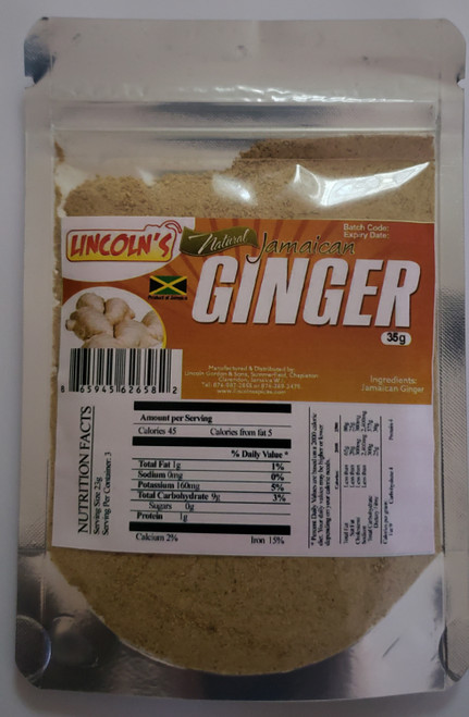 Lincoln's Jamaican Natural Ginger